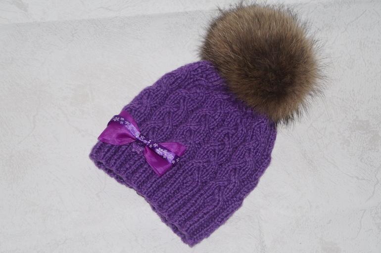 поп в фиолетовой шапке флотский