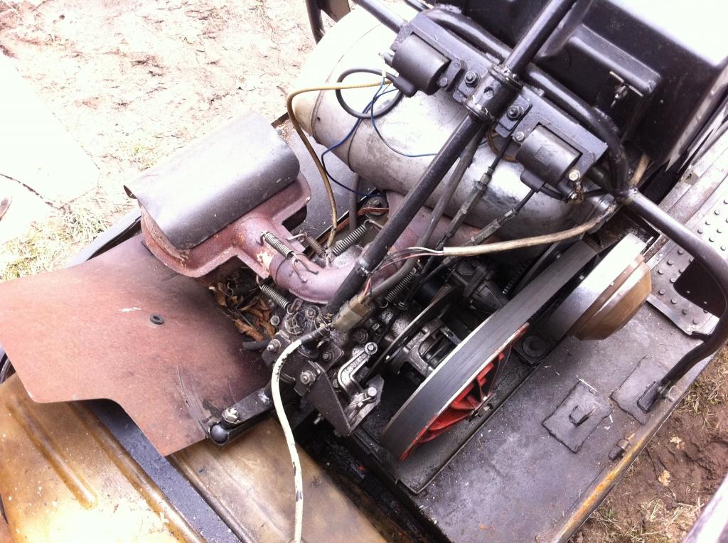Ремонт двигателя снегоход буран 46