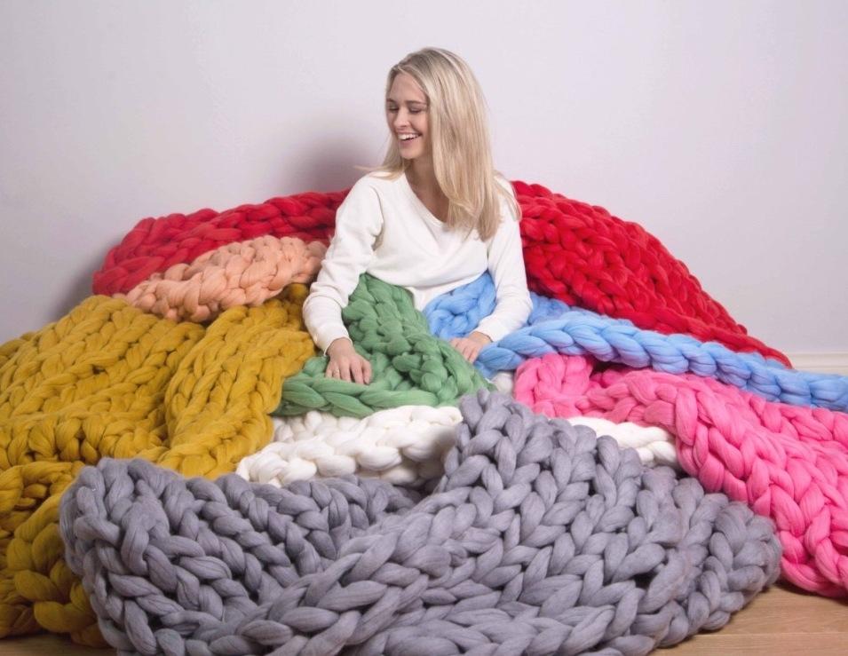 Изделия ручного вязания
