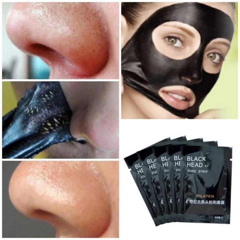 Черная маска для лица от черных точек и прыщей в домашних условиях