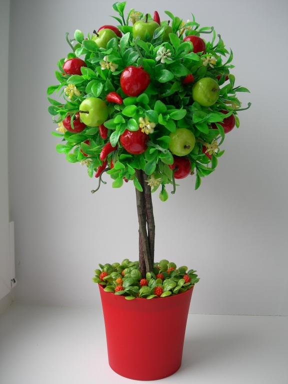 Топиарий или дерево счастья своими руками