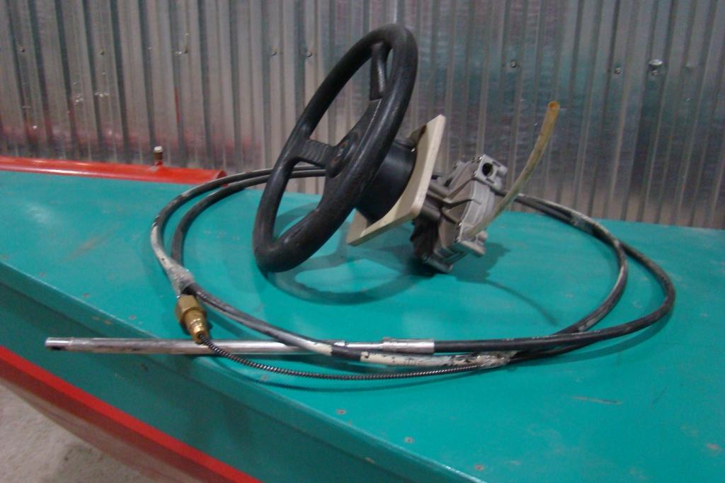 Дистанционное рулевое управление на лодку