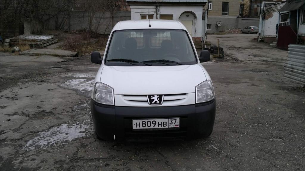 peugeot partner 2011 фургон
