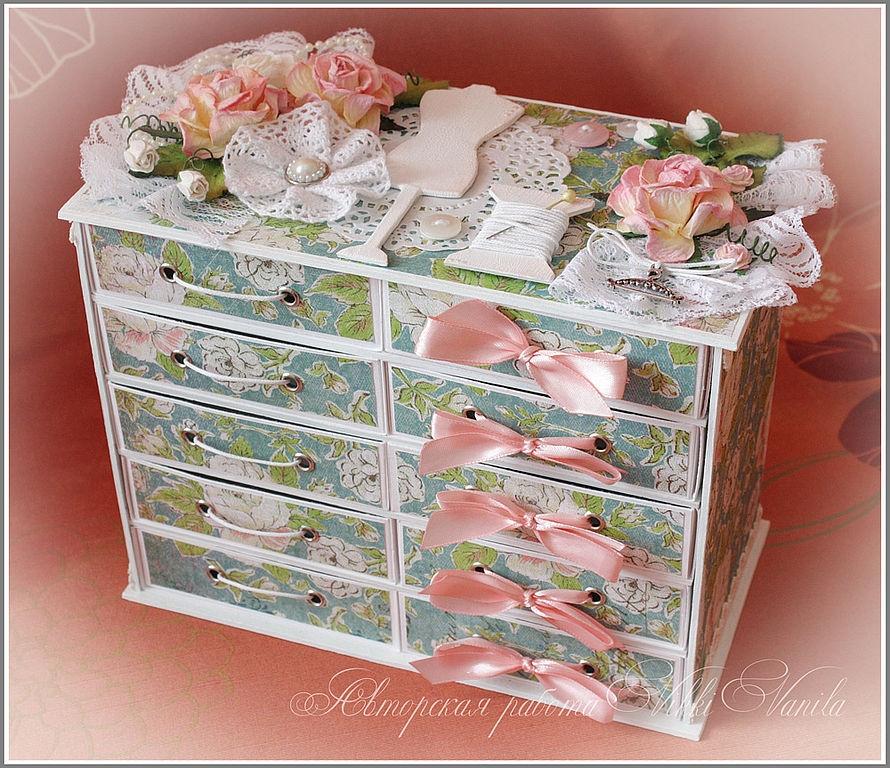 Коробочки для мелочей своими руками из картона
