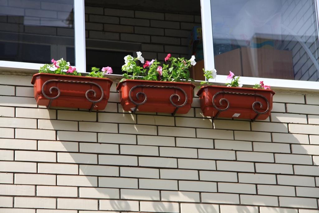 Цветочные ящики для балкона