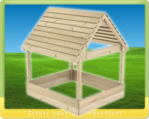 Как сделать песочницу с крышей своими руками чертежи