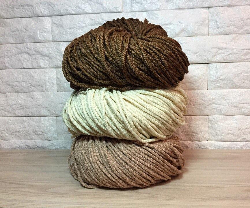 Хлопчатобумажный шнур для вязания ковров 91