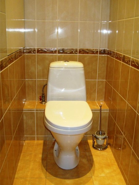 Установка туалета в квартире