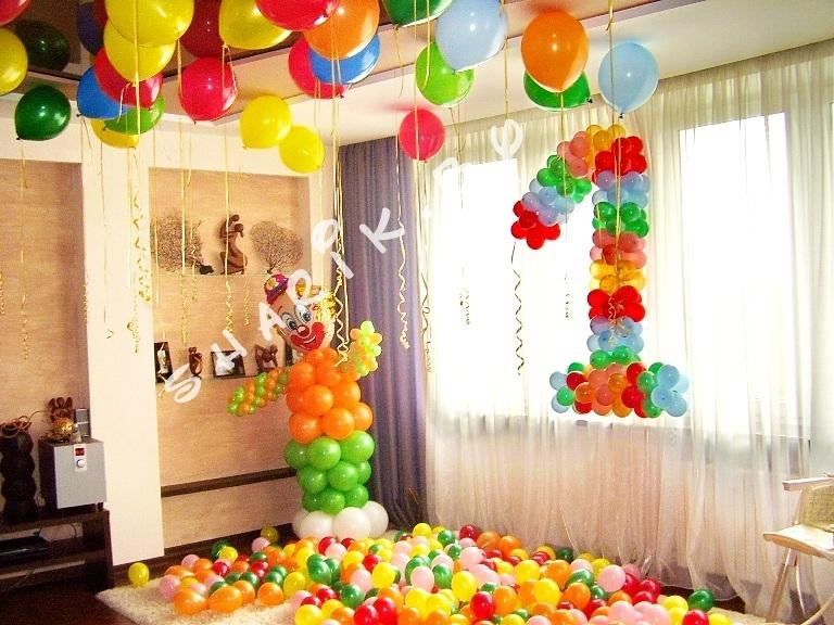 Украсить комнату на день рождения ребенка своими руками на 10 лет