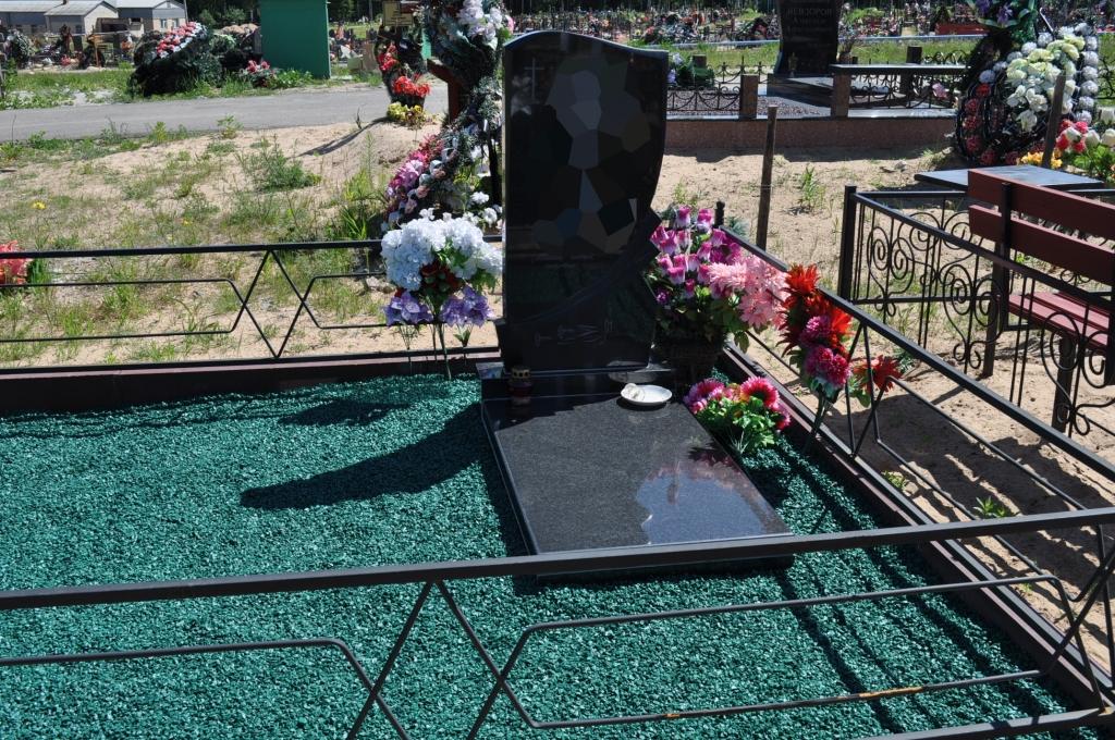 Как украсить могилу своими руками