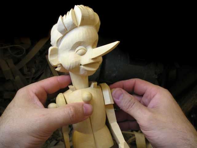 Как сделать куклу буратино