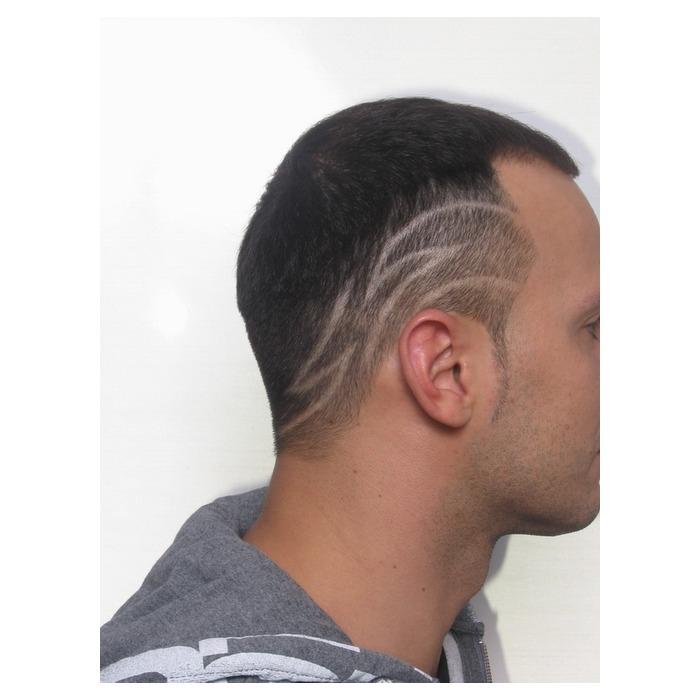 Мужские узоры на голове стрижка мужская