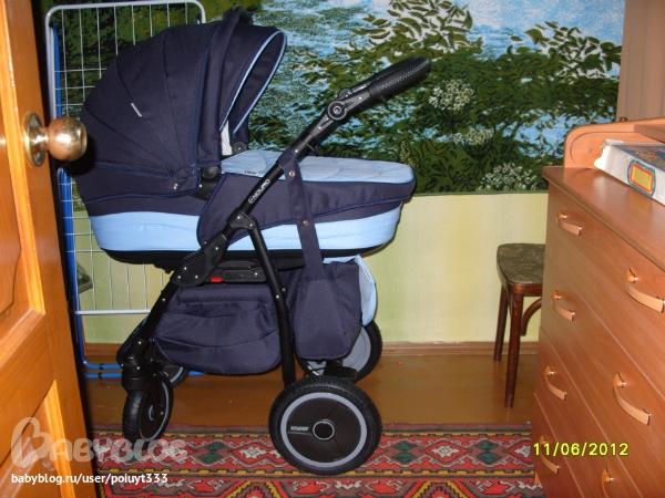 Тест колясок для новорожденных