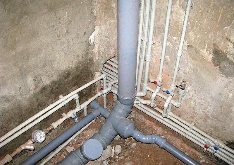 Монтаж канализации в новостройке