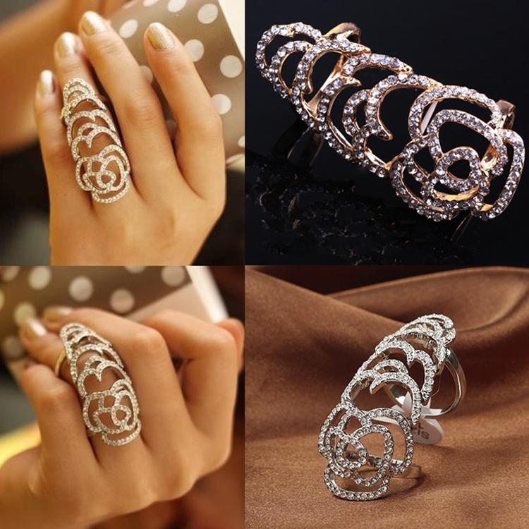 Кольца модные женские