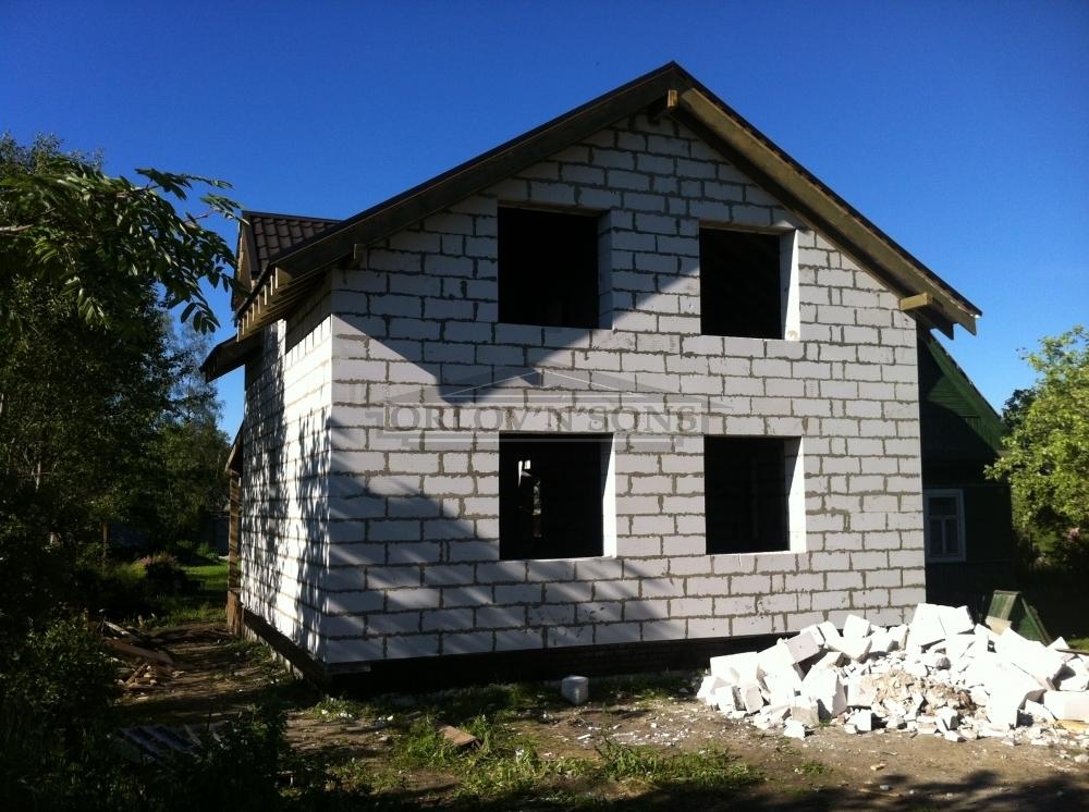 Как построить дом из блока