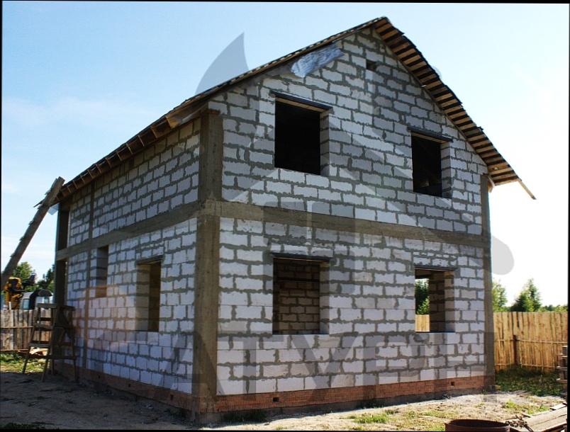 Простой домов из пеноблоков своими руками