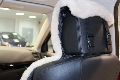 Как сшить меховые накидки в автомобиль